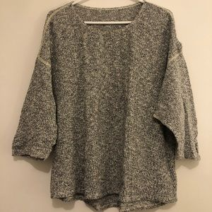 American Apparel Sweater in Salt and Pepper, OS